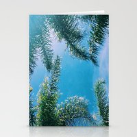 palm trees Stationery Cards featuring PALM TREES by C O R N E L L