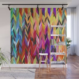 """""""burst of color"""" Wall Mural"""