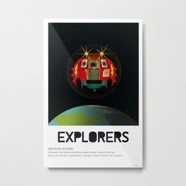 Explorers (1985) Metal Print