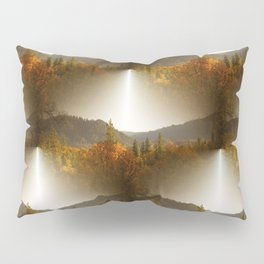 Golden Lace in the mountains... Pillow Sham