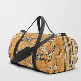 Suiyuan Province Chinese Pictorial Rug Print Duffle Bag