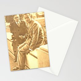 Salvador DALI. First interview. 1928 Stationery Cards