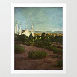 Las Vegas Temple Art Print