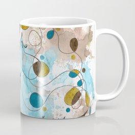 Flourish: Faith. Love. Happiness. Coffee Mug