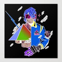 Kiss the Pyramid Canvas Print