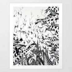 Guilt & Innocence Art Print