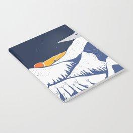 Mountain mysteries Notebook