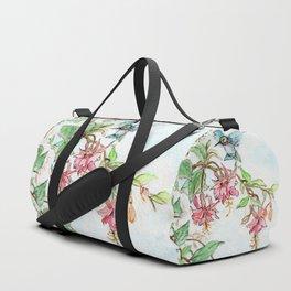 Honeysuckle Hummingbird Duffle Bag