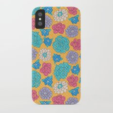 RocoFloral (mango) iPhone X Slim Case