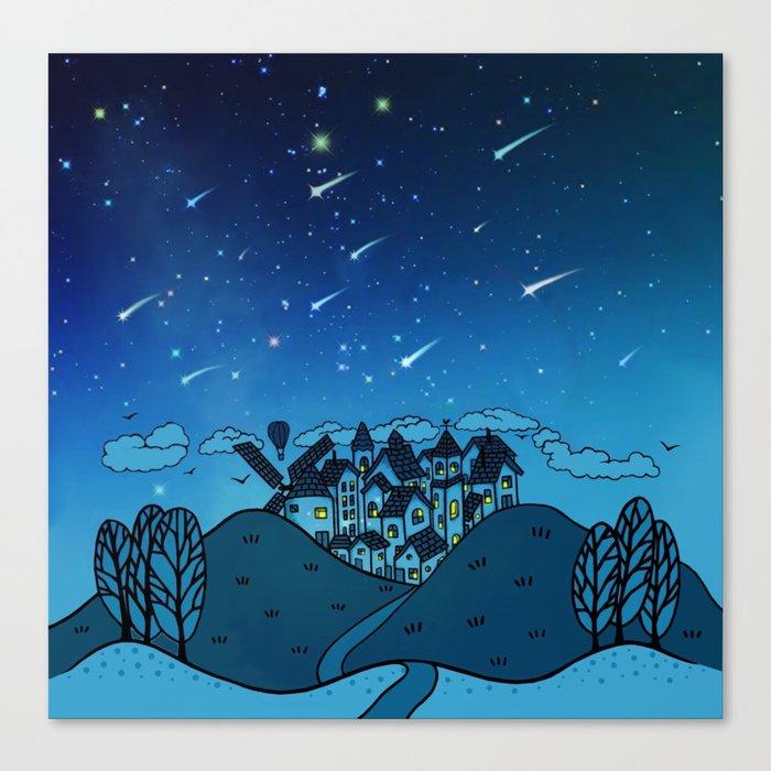 City of Stars Canvas Print