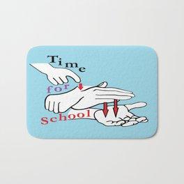 ASL Time for School Bath Mat