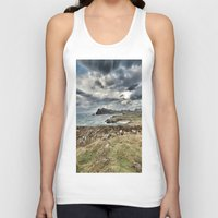 ruben ireland Tank Tops featuring Ireland Calls by Christine Workman