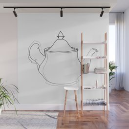""" Kitchen Collection "" - Tea pot Wall Mural"