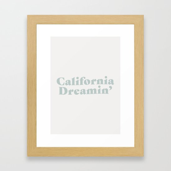 California Dreaming - Blue by scissorhaus