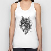 cycle Tank Tops featuring Cycle by April Schumacher