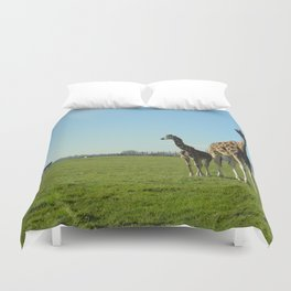 Is that your dad?? Duvet Cover