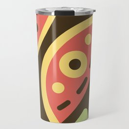 Abstract Sweets Composition Pattern Travel Mug