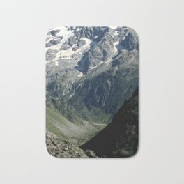 Hiking in the french Alps Bath Mat