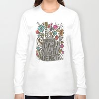 grateful dead Long Sleeve T-shirts featuring GRATEFUL HEART by Matthew Taylor Wilson