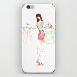 Shop Girl iPhone Skin