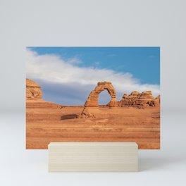 Delicate Arch 0415 - Arches National Park, Moab, Utah Mini Art Print