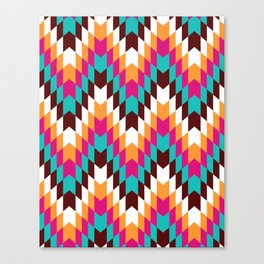 Tribal Chevron II Canvas Print