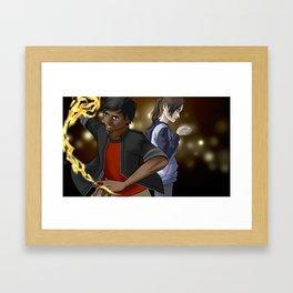 Theonite: Daniel & Joan Framed Art Print