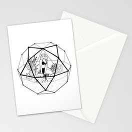 Terrarium Queen Stationery Cards