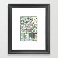 Spider Bro-Down Framed Art Print