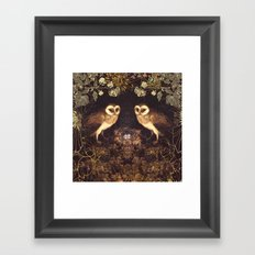Owl Nest Framed Art Print