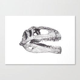 The Anatomy of a Dinosaur II - Jurassic Park Canvas Print
