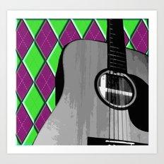 Acoustic #2 Art Print