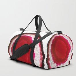 Pomegranate Agate Duffle Bag