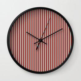 Patriotic Pattern | United States Of America USA Wall Clock