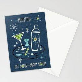 Martini Happy Hour ©studioxtine Stationery Cards
