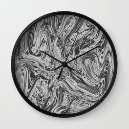 Grey Grass Wall Clock