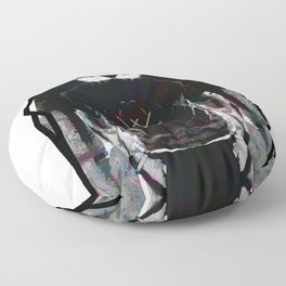 Real Abstract Floor Pillow