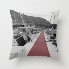 Spanish Harbour Throw Pillow