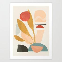 Abstract Shapes 20 Art Print