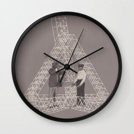 Salutem Machina 04 Wall Clock