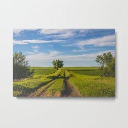 Prairie Backroads 2 Metal Print