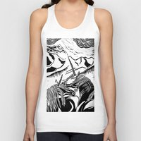 unicorns Tank Tops featuring Unicorns by Lily Livingston