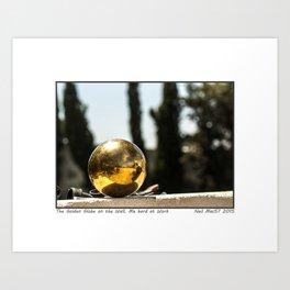 The Ball on the Wall Art Print