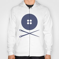 BUTTON SKULL Hoody