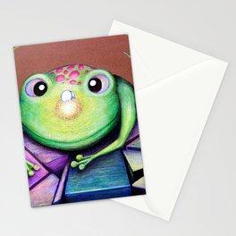 Nosy Frog Stationery Cards