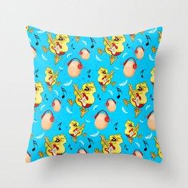 Rock Chick Throw Pillow