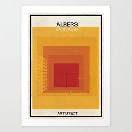 albers+barragan Art Print