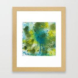 Splatter #2 Framed Art Print