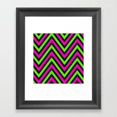 Neon Heights  Framed Art Print