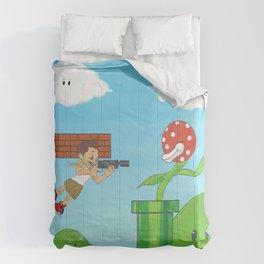 call of mario sniper mike  Comforters